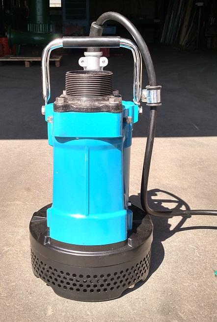 Tsurumi Dewatering Pump 5hp 220 Volt 3 Phase 3
