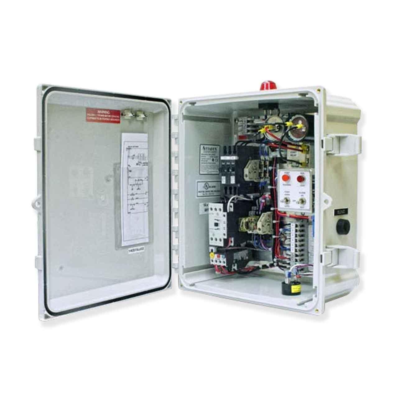 Aluminum Duplex Panels 10 Amp Barmesa Pumps BP03D4XNM010 Three Phase 208V Control Panel 3 Phase 200V 6