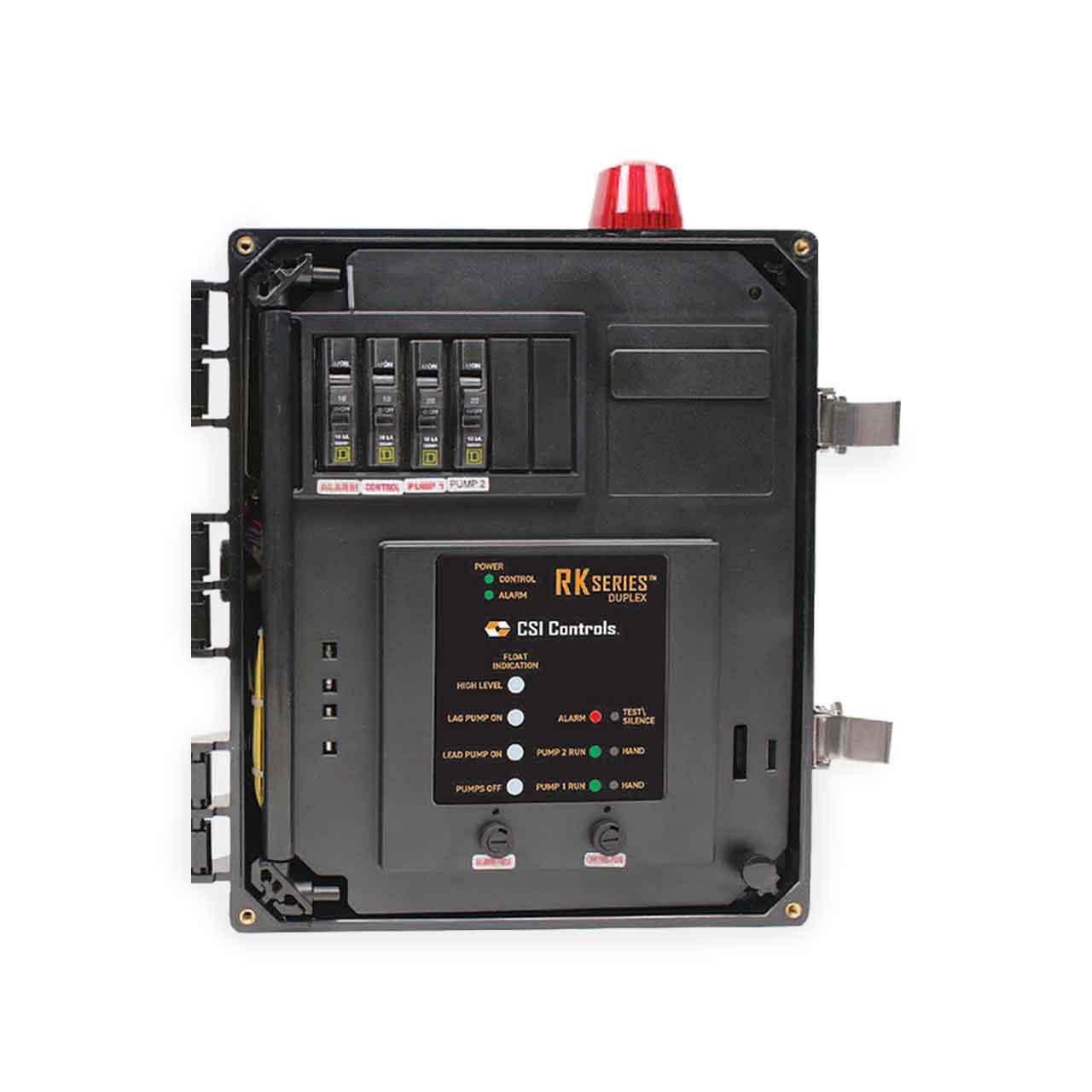 Csi Controls Csi Controls Rkdf230 Rk Duplex Pump Panel