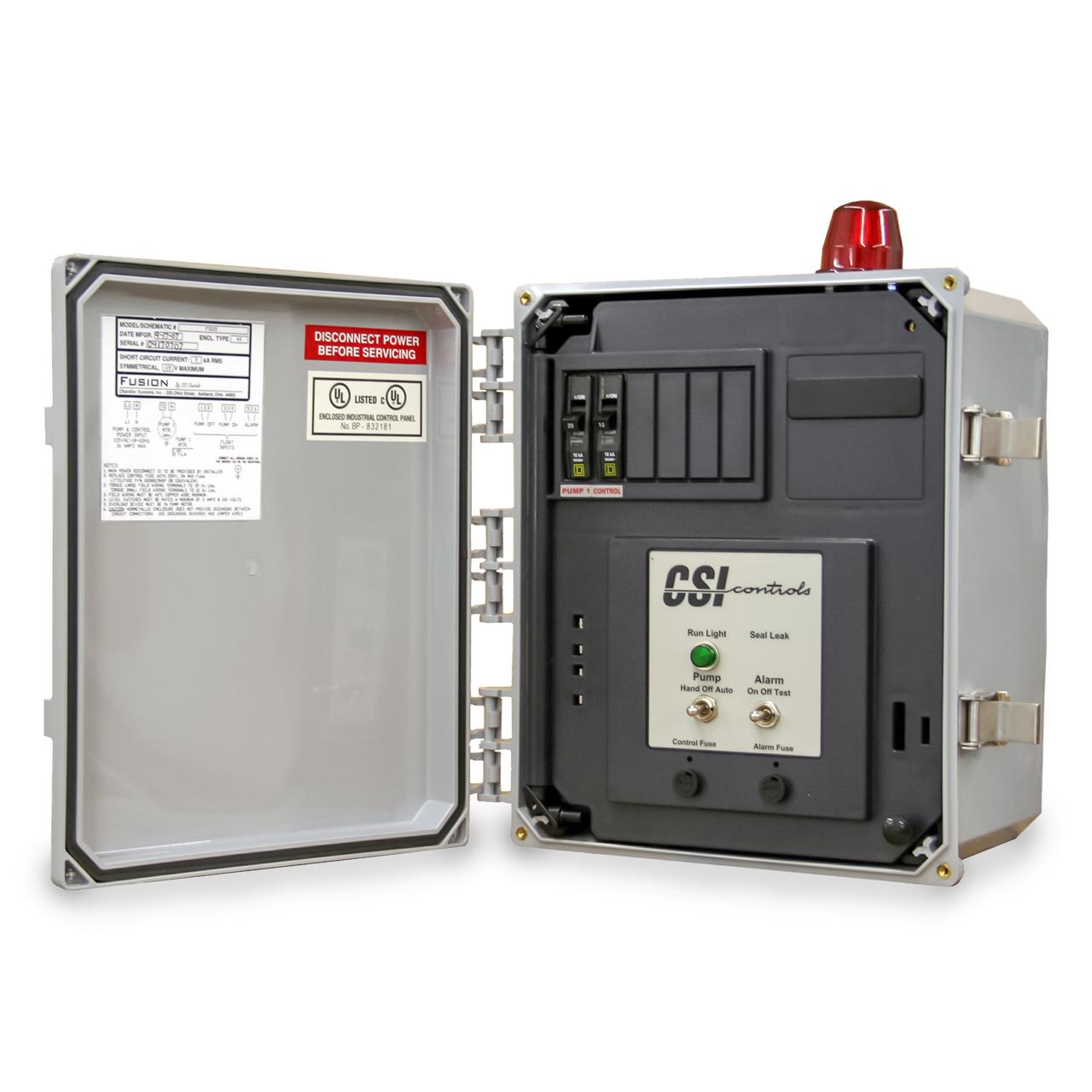 CSI Controls - CSI Controls FS230CB Fusion Simplex Pump Panel 230V 12FLA  #CSIFS230CB