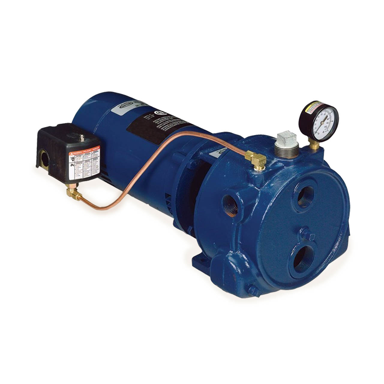 Convertible well jet pump 1 hp franklin jet pump for Well pump motor replacement