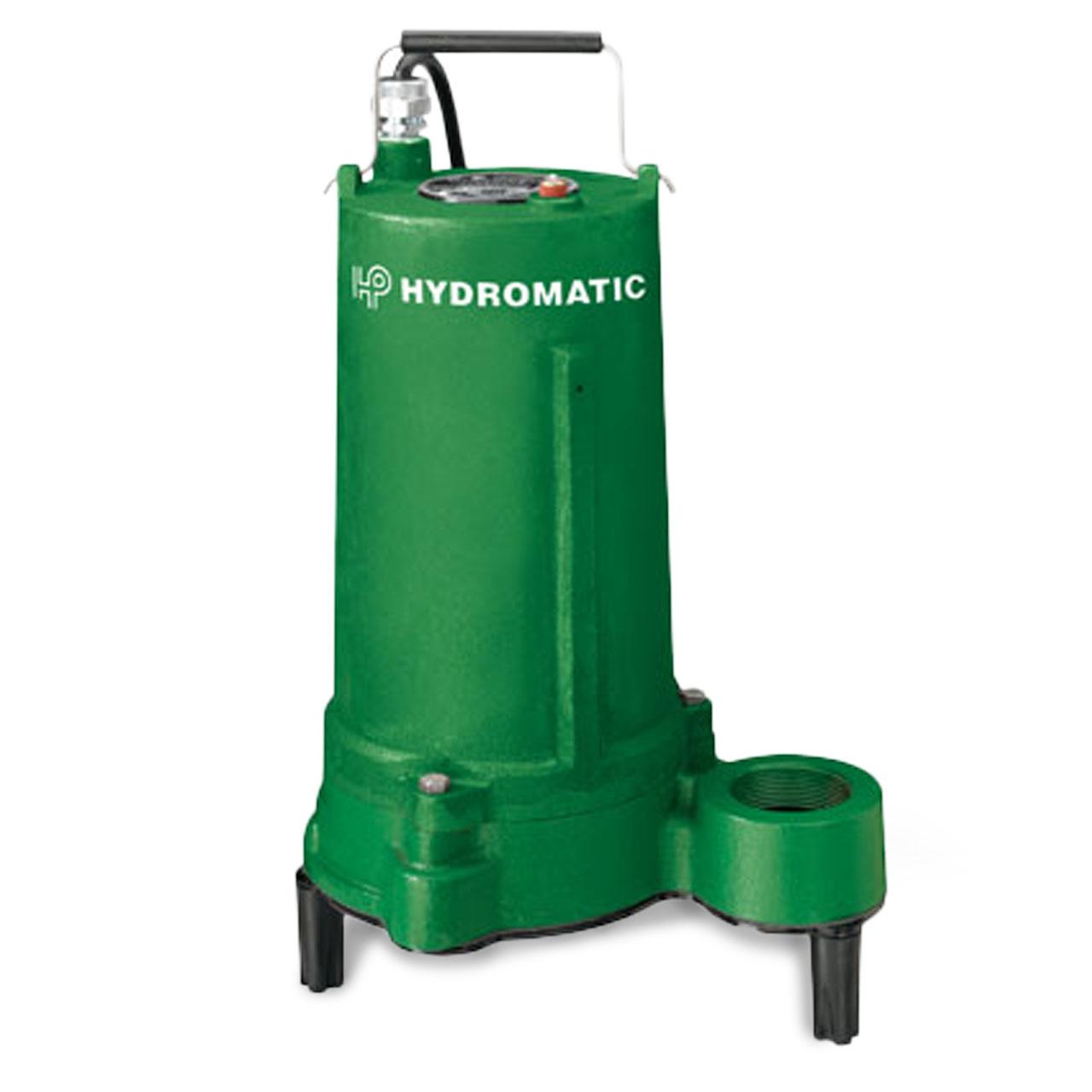 Hydromatic Pump Hydromatic Shef50a1 Submersible Effluent