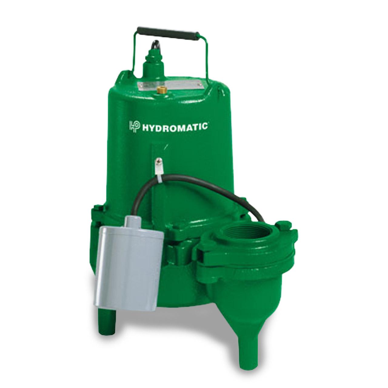 Hydromatic Pump - Hydromatic SK50A1 Submersible Sewage Pump 0.5 HP 115V 1PH  Automatic 10' Cord #HTC516540107