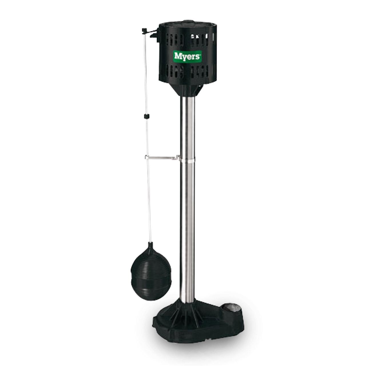 Myers Myers Mcsp3i Pedestal Sump Pump 1 3 Hp 115v Cast