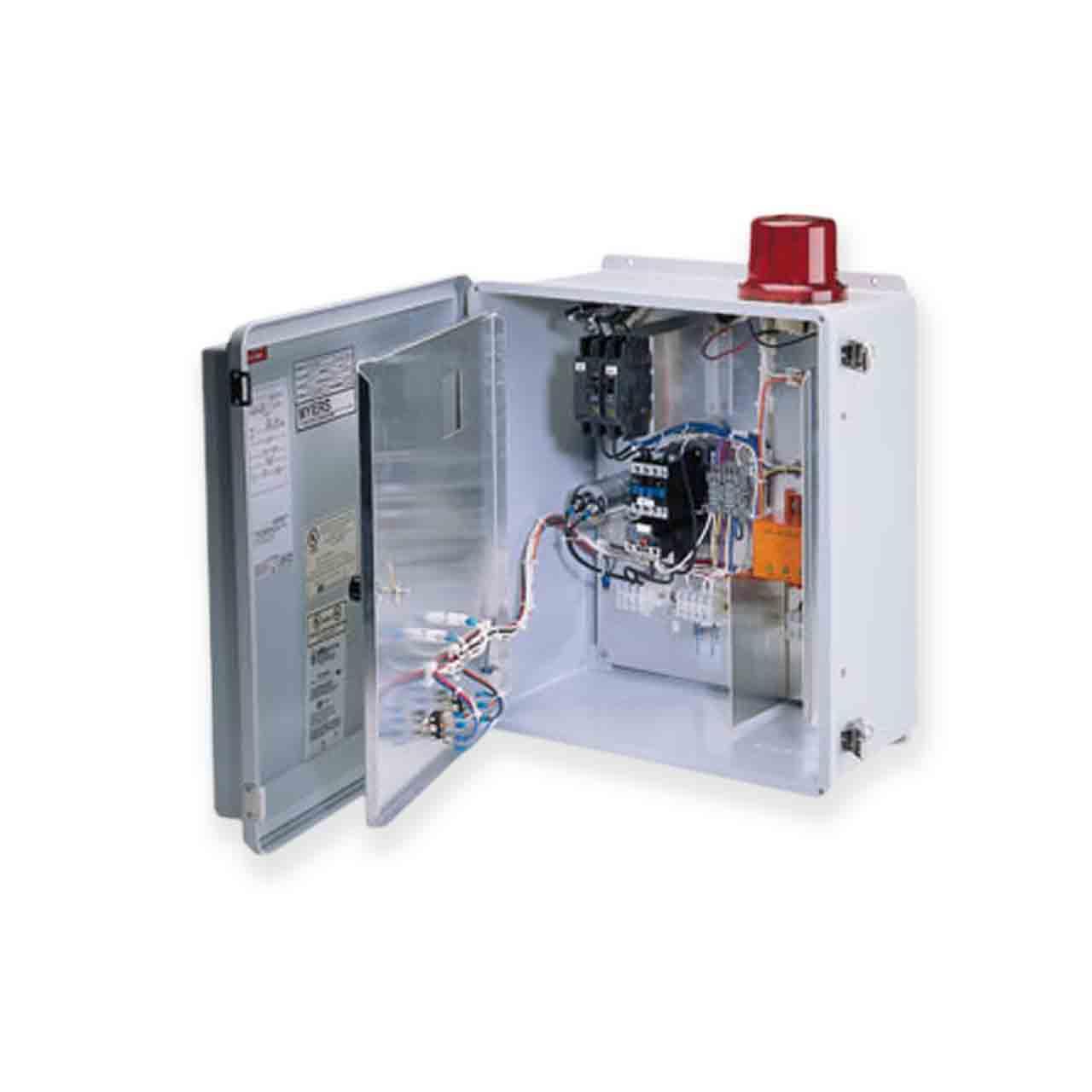 myrcecontrolpanel_001_wbg myers myers ce 23dw nema 4x duplex outdoor control panel 230v 3ph