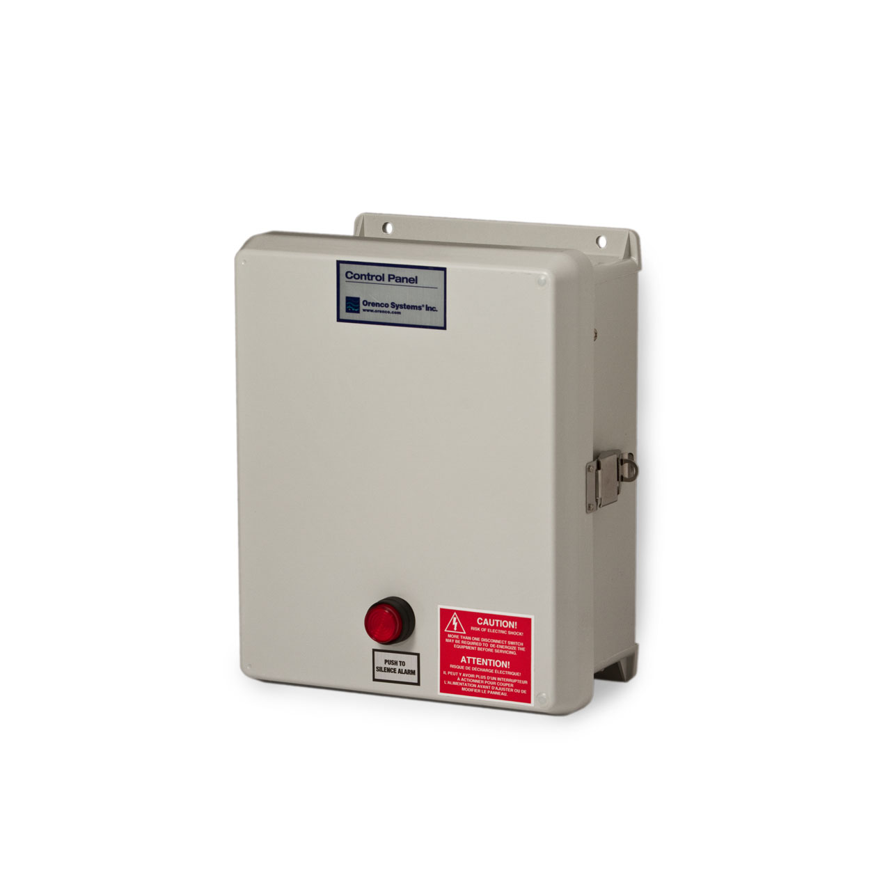 Orenco Systems Inc A Series Simplex Custom Built Controller Wiring Diagram Control Panel Cp Onca
