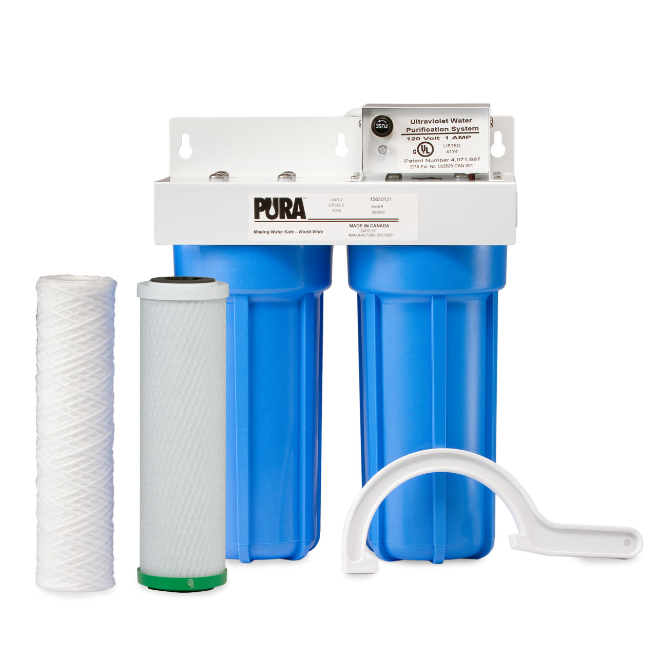 pura ultraviolet water purification system pura uv filter. Black Bedroom Furniture Sets. Home Design Ideas