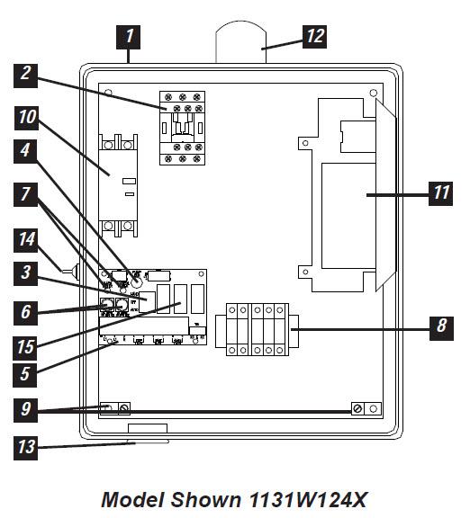 sje rhombus sje rhombus model 113 simplex single phase capacitor sje rhombus model 113 single phase simplex pump control panel components