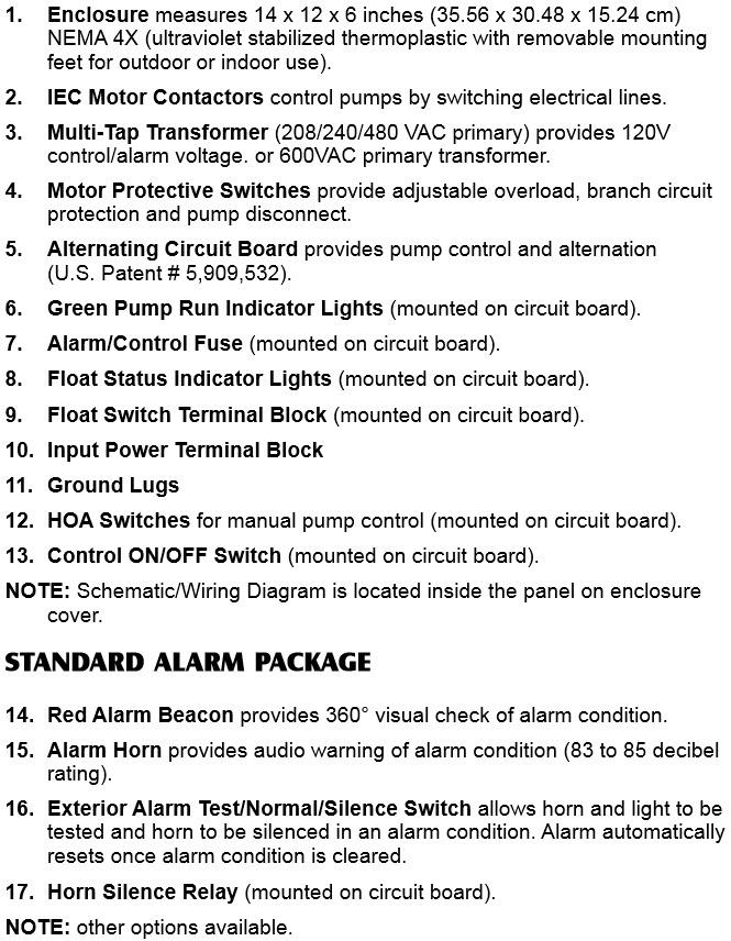 sje rhombus sje rhombus model phase v sje rhombus model 322 three phase duplex pump control panel w override components