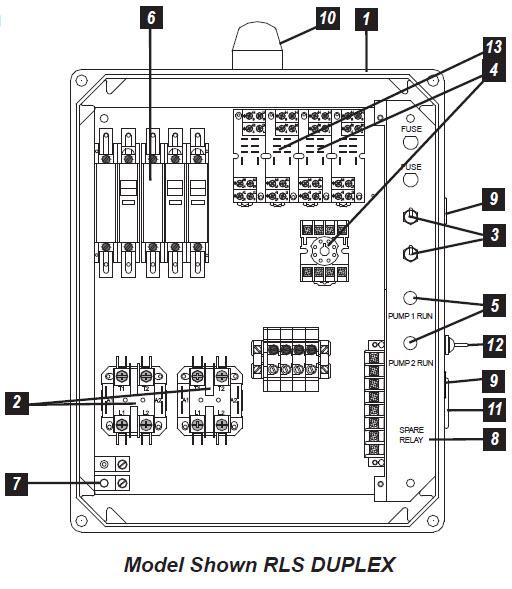 panel wiring diagram