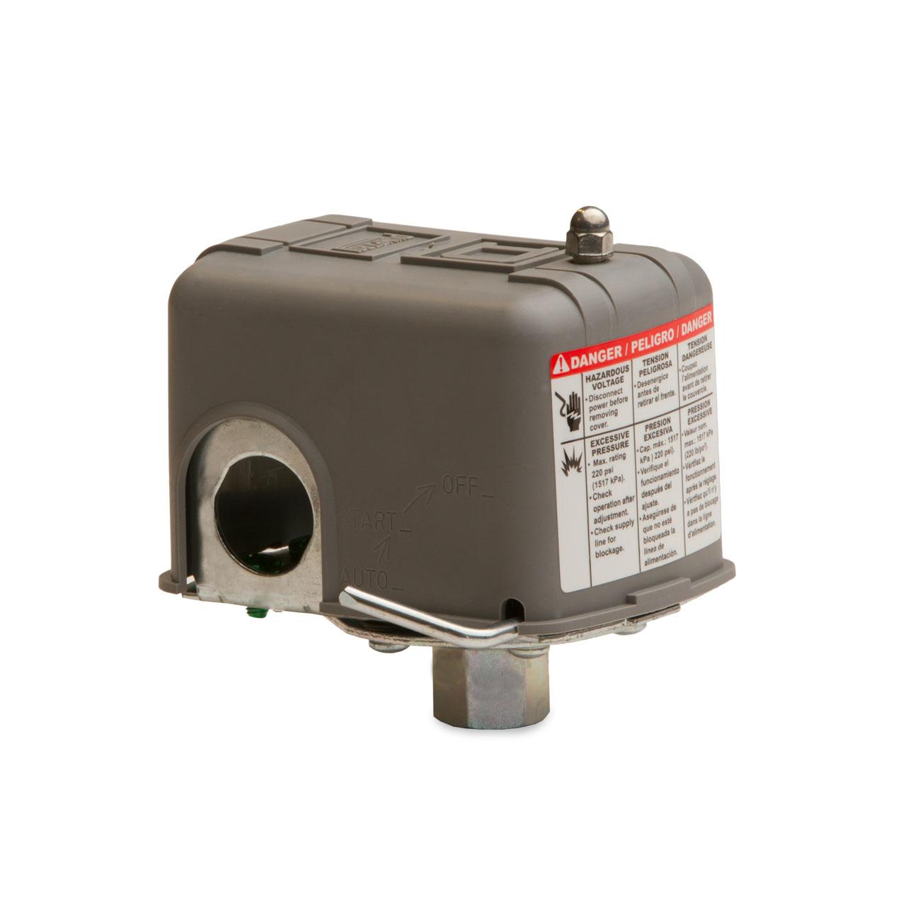 Square D Pressure Switch Low Pressure Cutoff Switch