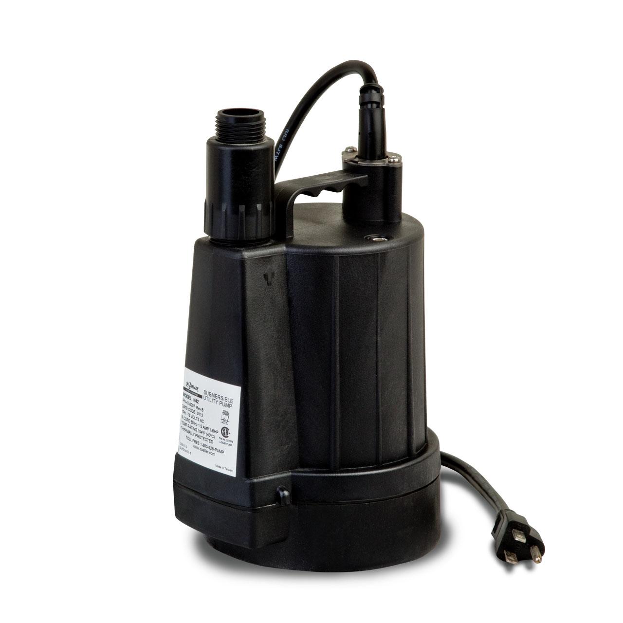 Zoeller zoeller 46 0005 model n46 thermoplastic utility for Drummond sewage pump