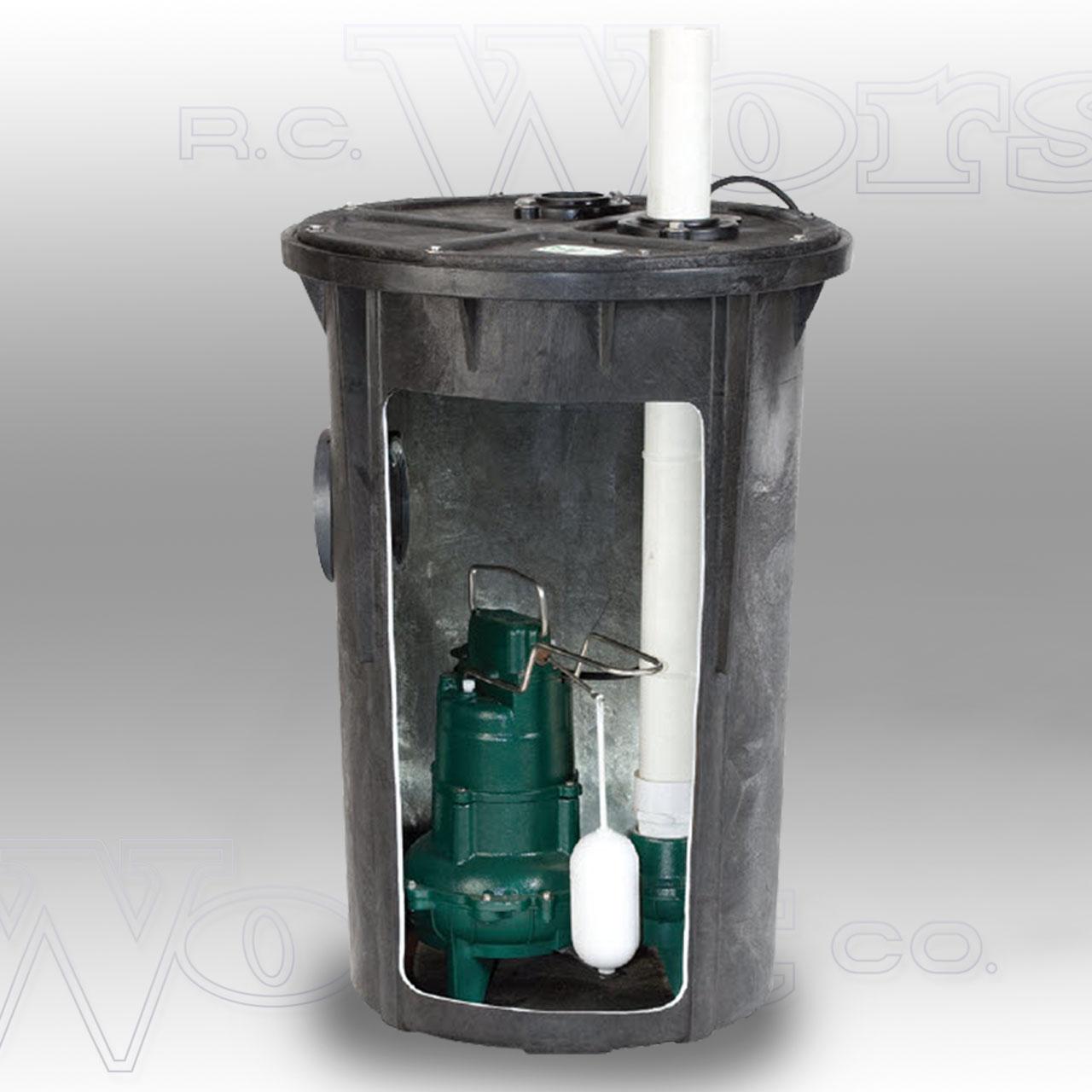 Zoeller Zoeller 912 0078 Preassembled Sewage Pkg System
