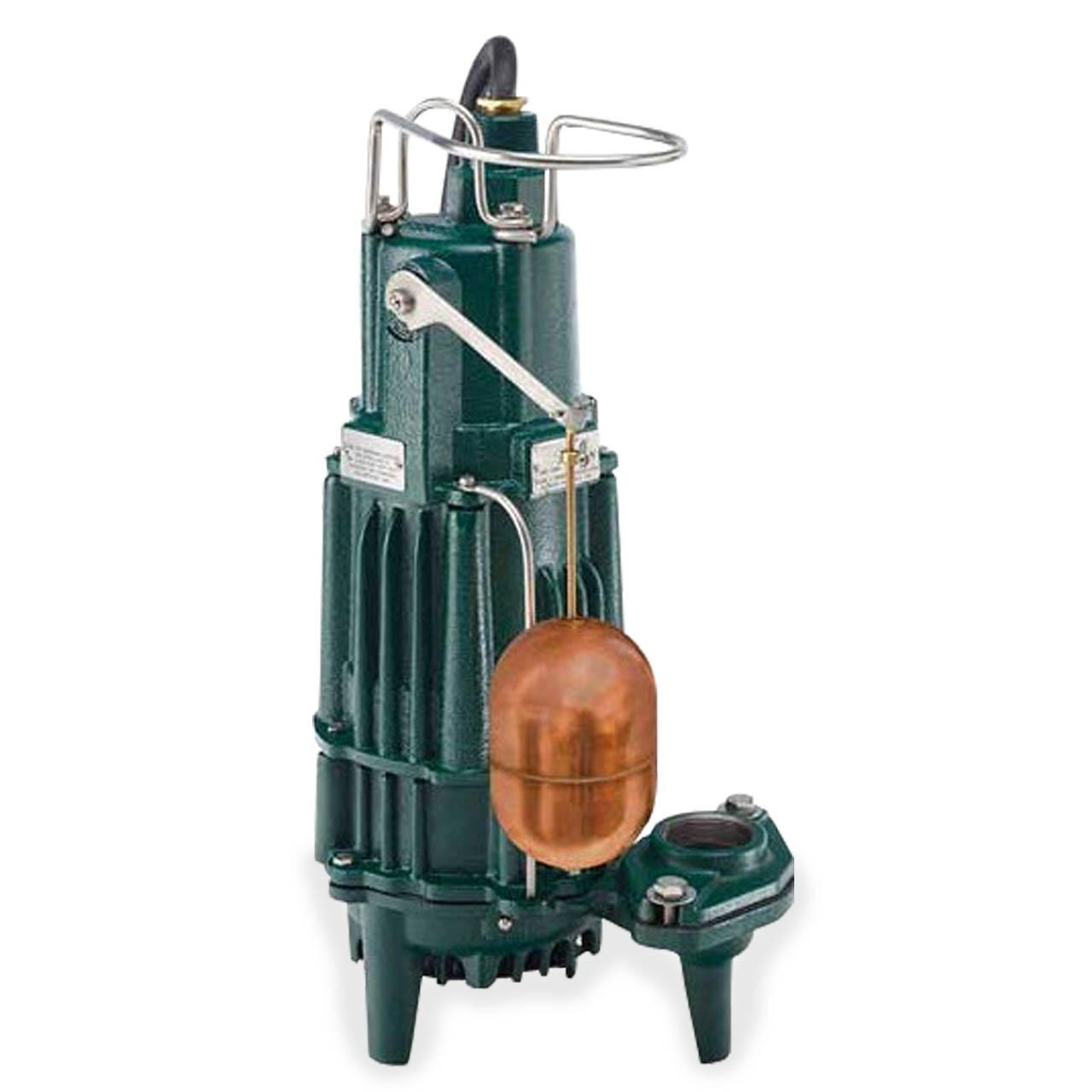 Zoeller - Zoeller 161-0071 Model MX161 Explosion Proof High Head Effluent  Pump 0.5 HP 115V 1PH 20' Cord Automatic #ZLR161-0071