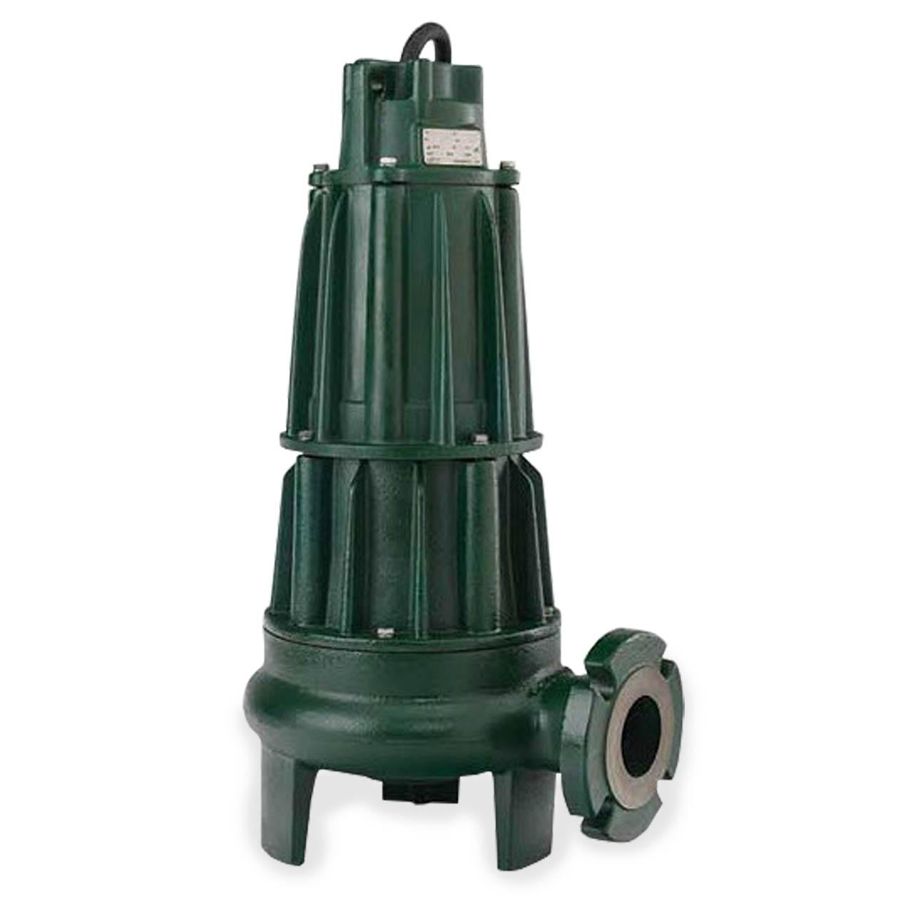 Zoeller Zoeller 631 0009 Model F631 Sewage Waste Dewatering Non Clog Pump 2 0 Hp 230v 3ph 25 Cord Horizontal Discharge Zlr631 0009