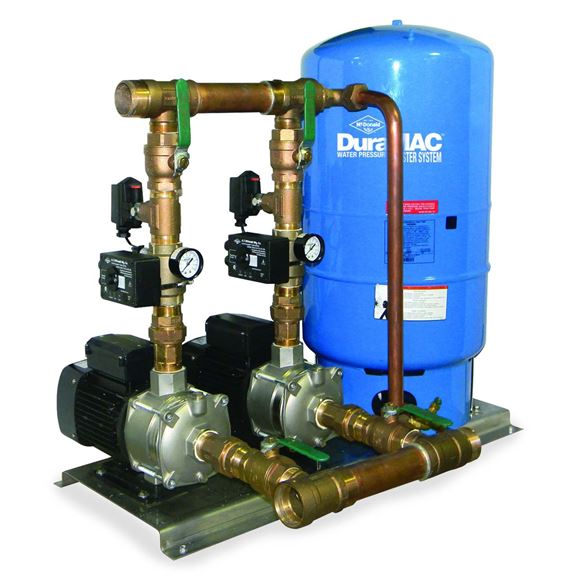 Commercial Water Booster Pump System Duplex Booster Pump