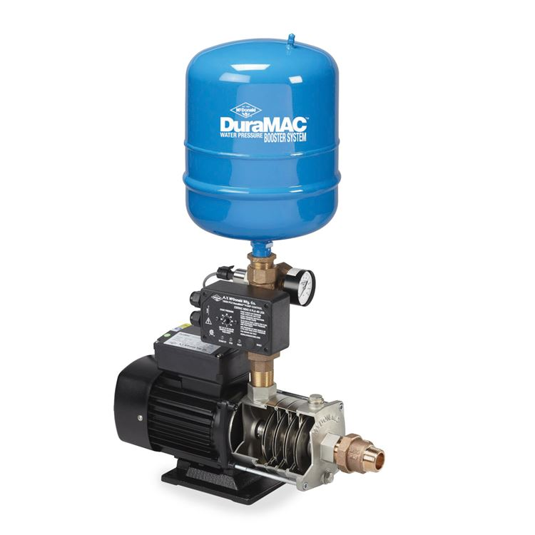Pressure Booster Systems : Duramac residential pressure booster ay mcdonald