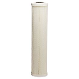 "BII 14-GPPE2-20 Pleated Polyester Cartridge 4.5"" X 20"" 20 Micron  20 micron filter, Flow-Max FM-BB-20-20A, Culligan HD-950, PENTEK-ECP20-20BB, Pentek ECP, pleated poly filter, 20 micron string filter, sediment filtration, filter, sediment filter, housing, 4.5X20, 4X20, filtration, whole house filter, sediment filter, 4X20 filter, 4"" filter, 4"" x 20"" filter, 4.5 X 20 filter"