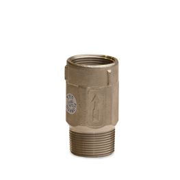 "Flomatic 100MSS2 4221SS2 Stainless Steel Check Valve 1-1/4""M x 1""F SS Check, Stainless steel check, stainless steel, SS,  bleedback, checkvalve, check valve, valve, inline check, in line check, well check valve, bronze valve"