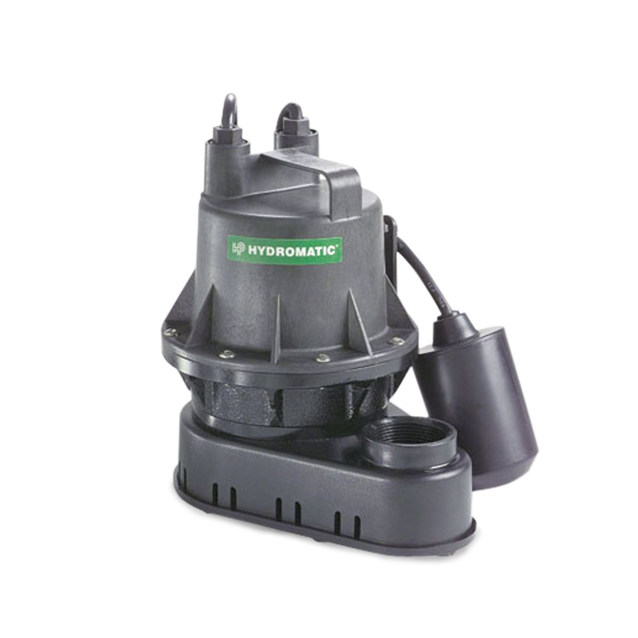 Hydromatic B-A1 Submersible Sump Pump 1/4 HP 115V 1PH Automatic 10' Cord B-A1, BA1, sump pump, Effluent pump, Hydromatic Pump, Hydromatic Effluent pump, septic pump, Hydromatic sewage pump, sump pump, sewage pump,
