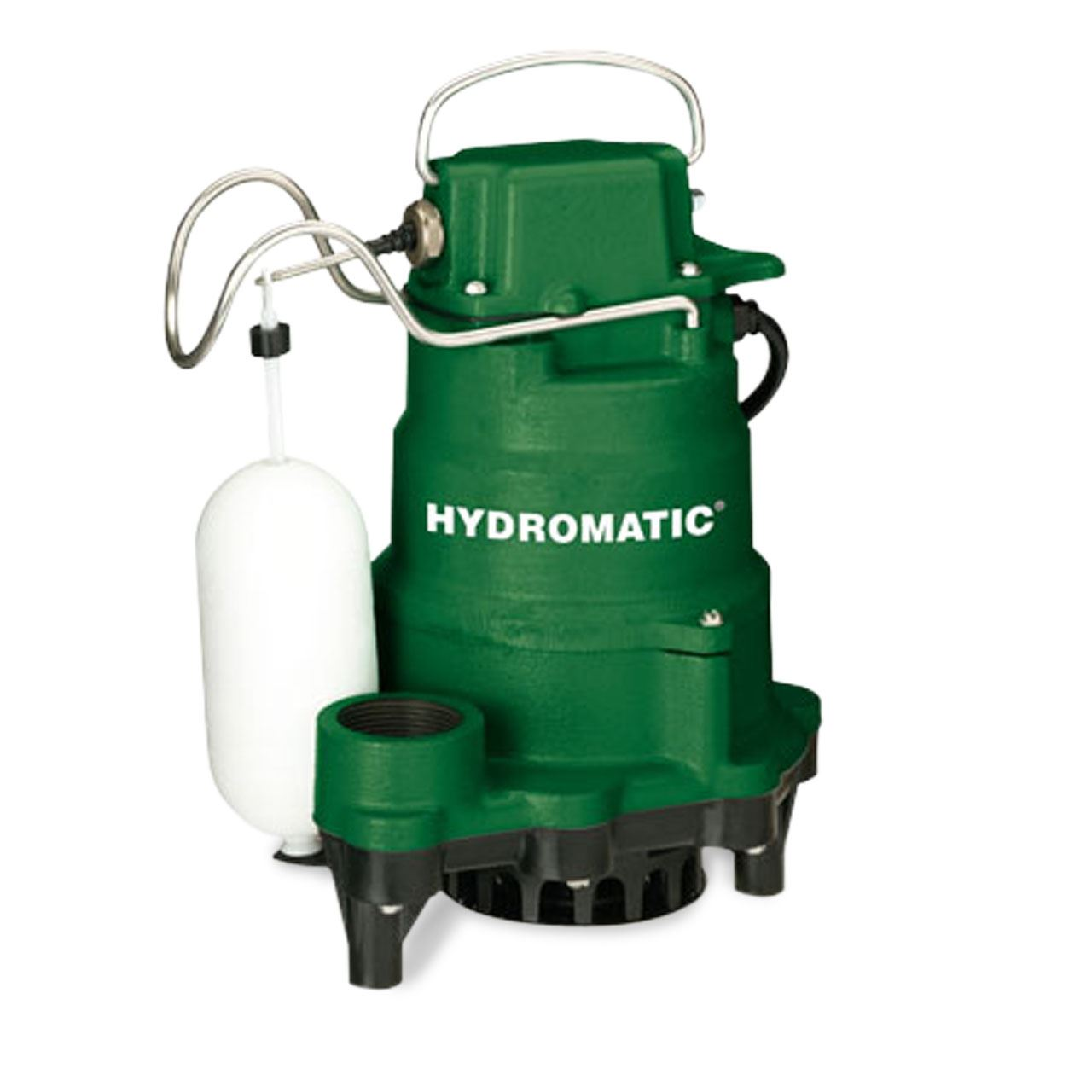 Hydromatic HP33 Automatic Submersible Sump Pump 0.33 HP 115V 1PH 10' Cord Hydromatic HP33, Hydromatic HP50, Hydromatic W-A1, Hydromatic D-A1, Hydromatic V-A1, W-A1, D-A1, V-A1, SW33, SW33A1, SW33M1, SW33M2, SW33A2,Effluent pump, Hydromatic Pump, Hydromatic Effluent pump, septic pump, Hydromatic sewage pump, sump pump, sewage pump,