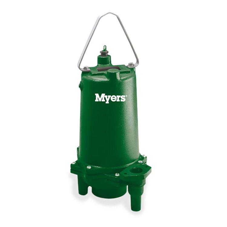 2 Hp Grinder Pump Myers Residential Grinder Pump