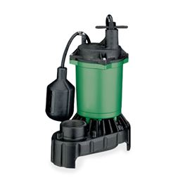 Myers Submersible Sump Pump MS33PT1 0.33 HP 115V 8 Cord Automatic