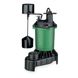 Myers Submersible Sump Pump MS33PV1 0.33 HP 115V 8 Cord Automatic