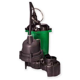 Myers Submersible Sump Pump MS33D10 0.33 HP 115V 10 Cord Automatic Myers Ms33D10, MS33D10, submersible sump pump, sump pump, Myers pump, dewatering pump