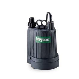 Myers SPS-6 Dewatering Utility Pump 1/6 HP 115V Manual Myers SPS-6, SPS6, utility pump, dewatering pump, 24665D000