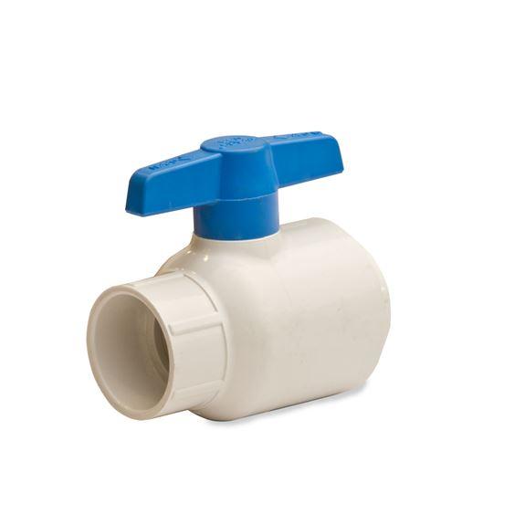 Spears pvc utility ball valve quot  socket