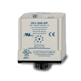 SymCom 201-100-SP Single-Phase Plug-in Voltage Monitor 95-120V MSR201100SP, SymCom 201-100-SP, 201, 8-pin, 8 pin, voltage monitor, volt monitor, monitor, voltage, protection, motor protection, pump protection, motor saver, current protection, run dry protection, SymCom