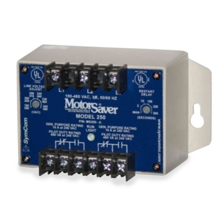 Three Phase Voltage Monitor : Symcom a three phase voltage monitor msr