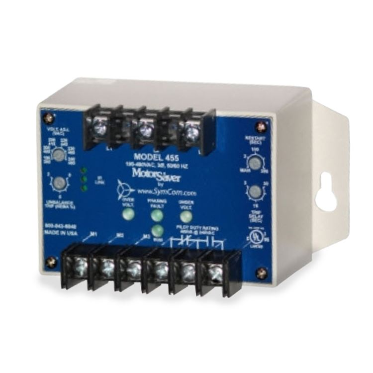 Symcom Symcom 455480r Three Phase Voltage Monitor