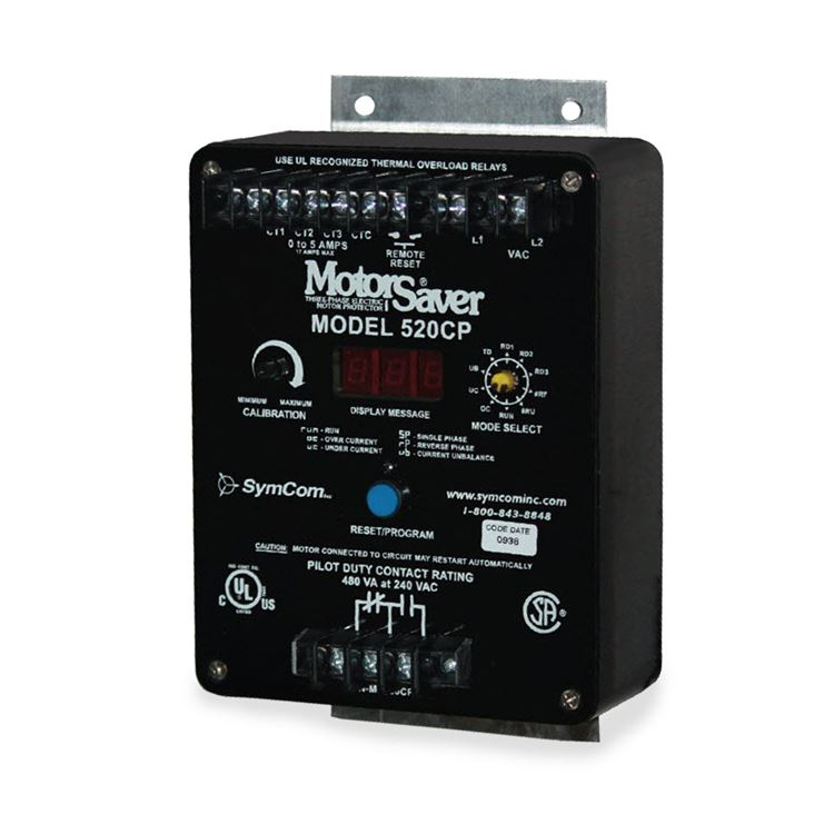 Three Phase Voltage Monitor : Symcom cp three phase current monitor