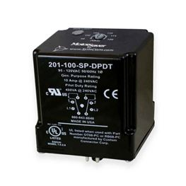 SymCom 201-100-SP-DPDT Single-Phase Plug-in Voltage Monitor 95-120V MSR201100SPDPDT, SymCom 201-100-SP-DPDT, 201, 8-pin, 8 pin, voltage monitor, volt monitor, monitor, voltage, protection, motor protection, pump protection, motor saver, current protection, run dry protection, SymCom