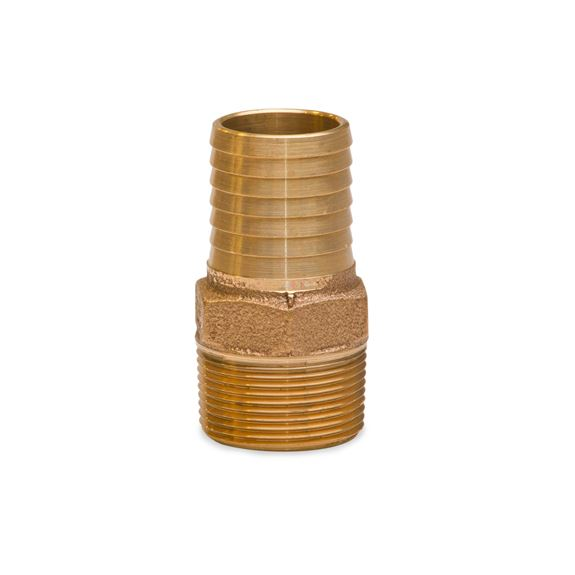 Various fitting mfrs no lead brass male adapter plastic