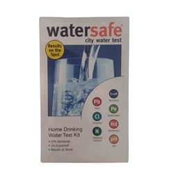 Watersafe WSFWS425B City Water Test Kit watersafe, test kit, water test kit, city water test kit, well water test kit, lead test kit, pesticide test kit, bacteria test kit