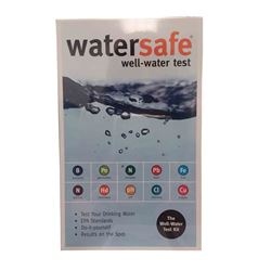 Watersafe WSFWS425W Well Water Test Kit watersafe, test kit, water test kit, city water test kit, well water test kit, lead test kit, pesticide test kit, bacteria test kit