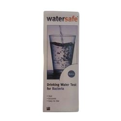 Watersafe WSFWS831 Water Test Kit for Bacteria watersafe, test kit, water test kit, city water test kit, well water test kit, lead test kit, pesticide test kit, bacteria test kit