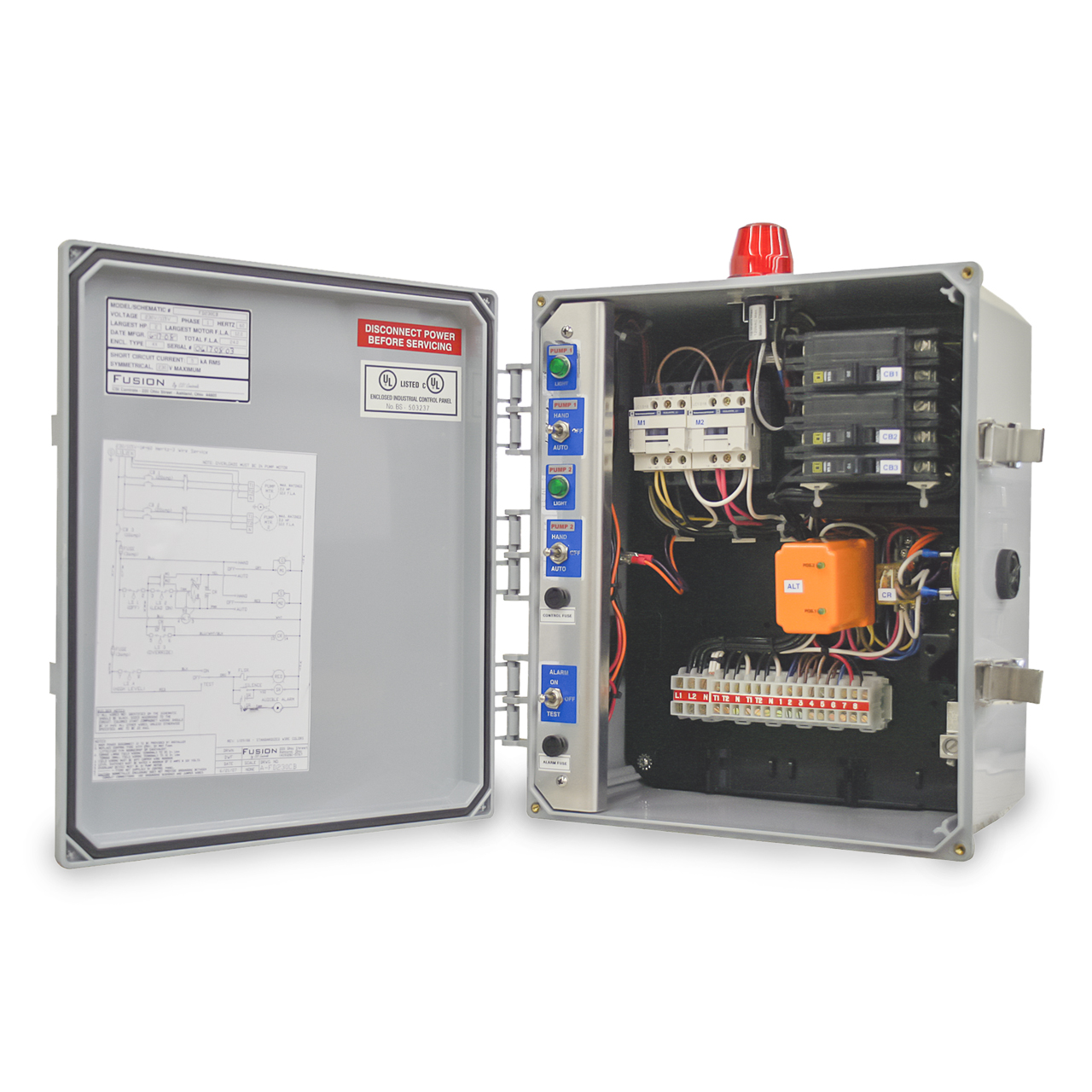 Control Panels In Septic Tank System Wiring Diagram Fusion