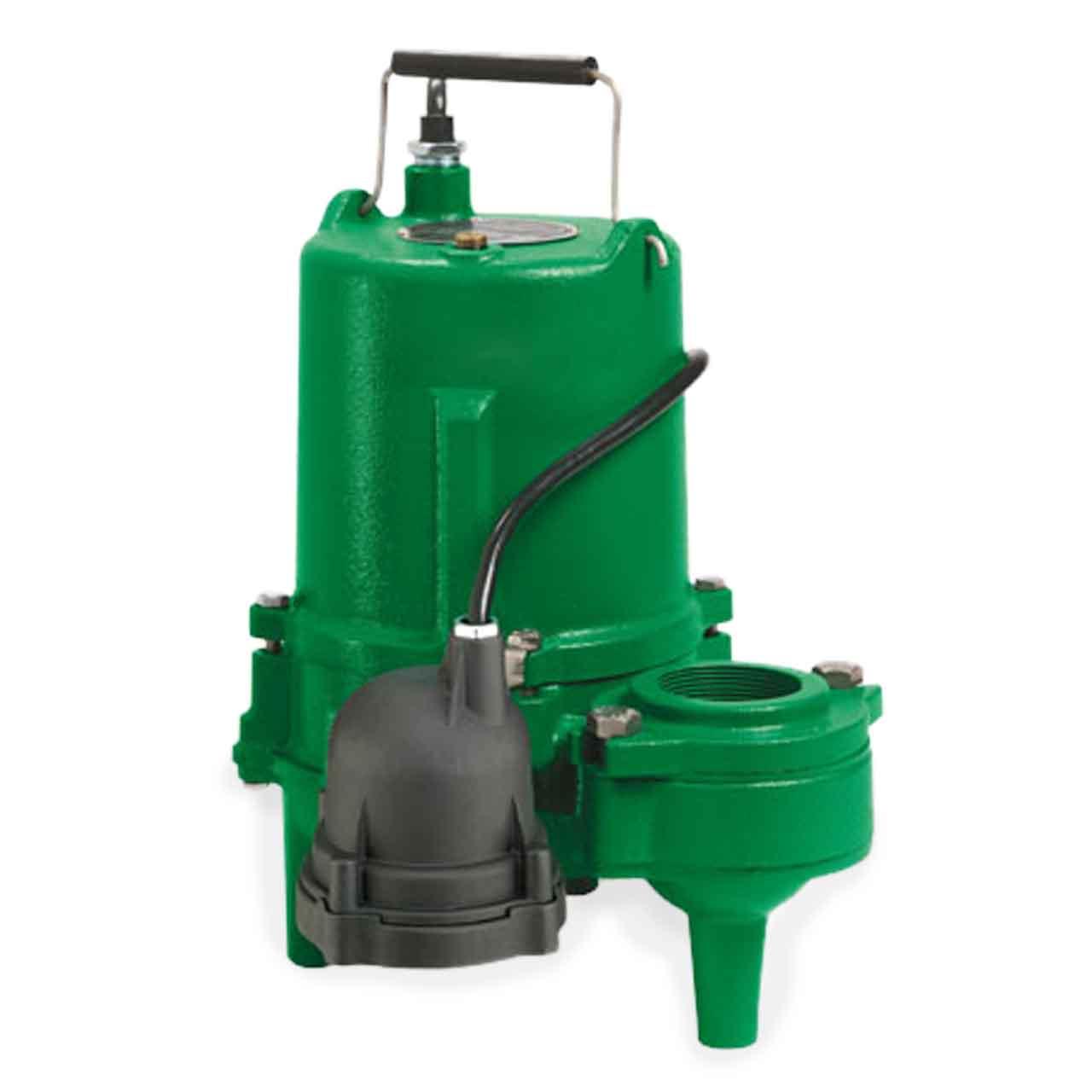 Myers MSP50M1 Submersible Sewage Pump 05 HP 115V 1PH Manual 20 Cord Myers