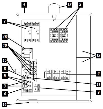123_components sje rhombus sje rhombus model 123 duplex single phase capacitor
