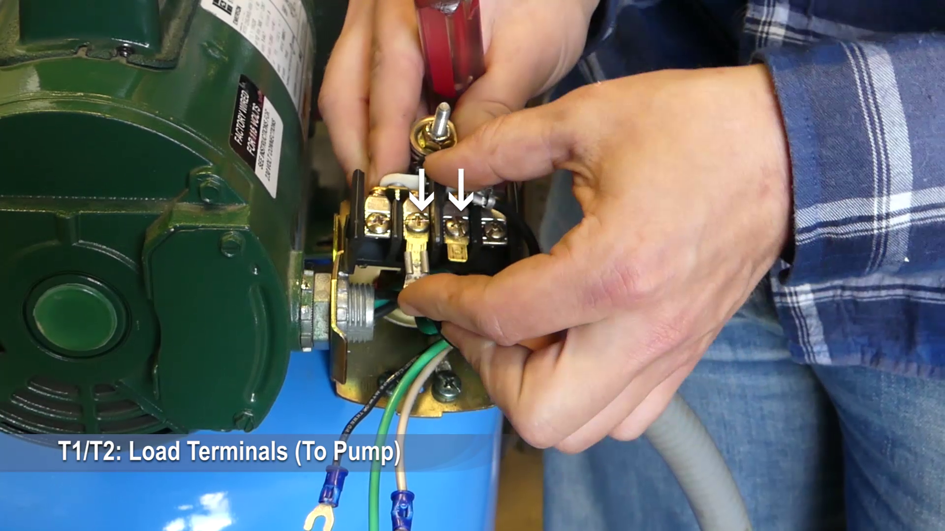 How to Install and Wire a Pressure Switch