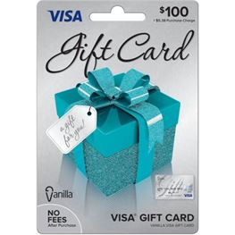 $100 Prepaid Visa Debit Card