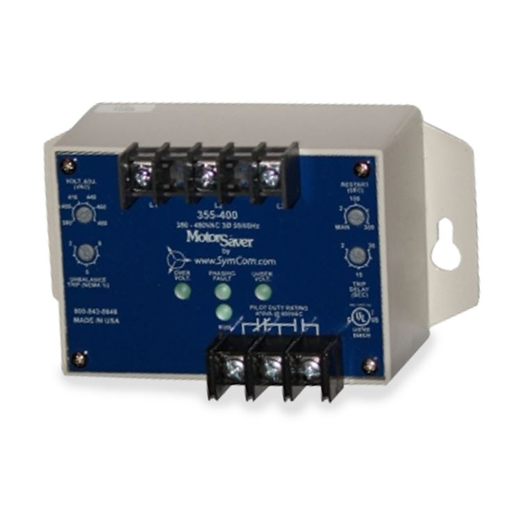 Three Phase Voltage Monitor : Symcom  three phase voltage monitor