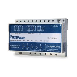 SymCom Model ISS-105 5-Channel Intrinsically Safe Switch 120V MSRISS105 SymCom ISS-105, 5-Channel, Intrinsically Safe, Switch, 120V,