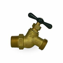 "A.Y. McDonald 72007 No-Kink Hose Bibb 3/4"" MPT No-Lead  Brass valves, service fittings, brass fittings, A.Y. McDonald Valves, A.Y. McDonald Service Fittings, polylock fittings, ford fittings, ball valves, brass ball valves"