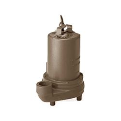 Barnes BP314BR Bronze Submersible Effluent Pump 0.33 HP 115V 1PH 15' Cord Manual effluent pump, dewatering pump, Barnes bp Series, submersible effluent pump, barnes bp series pump