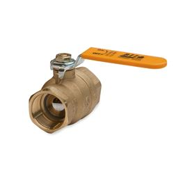 "BII 0822-25 Forged Brass Full Port Ball Valve 2-1/2"" American Ball Valve, Parker Ball Valve, Apollo Ball Valve, brass ball valve, brass valve, water valve, 1/4 turn ball valve, brass ball valve"